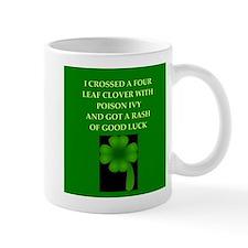 luck of the irish Small Mug