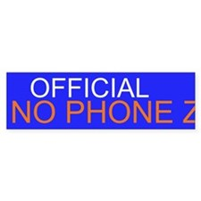No Phone Zone Bumper Sticker (50 pk)