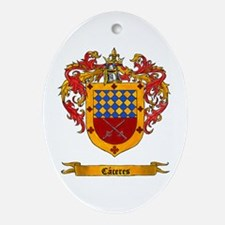 Caceres Ornament (Oval)