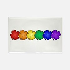 Shamrock Pride Rectangle Magnet