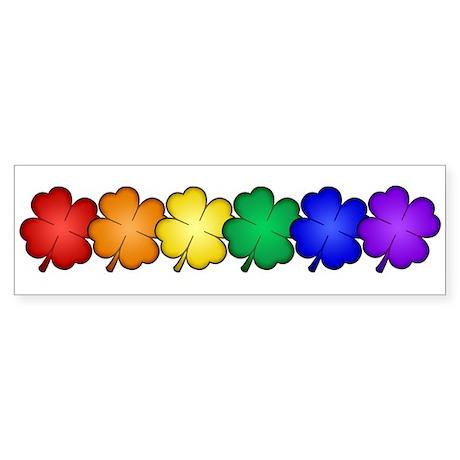 Shamrock Pride Sticker (Bumper)