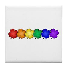 Shamrock Pride Tile Coaster
