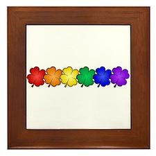 Shamrock Pride Framed Tile