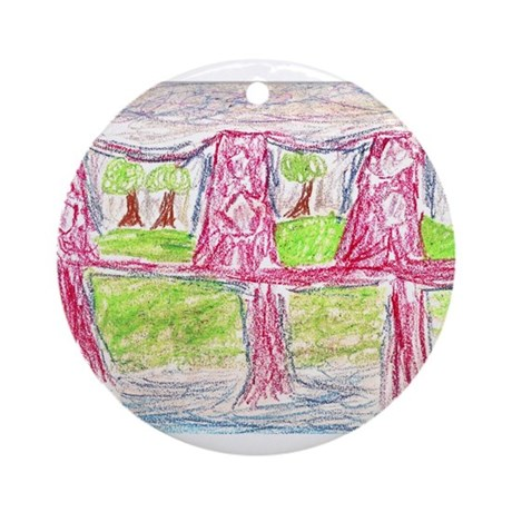 Terrell Rogers Ornament (Round)