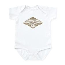 Coast the Coast - dia-gld Infant Bodysuit