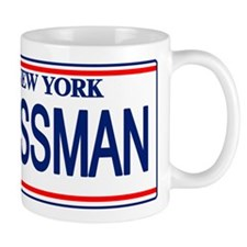 Seinfeld Ass Man License Plat Mug