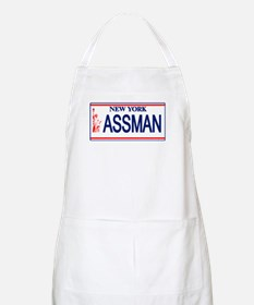 Seinfeld Ass Man License Plat Apron