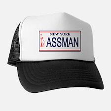 Seinfeld Ass Man License Plat Trucker Hat