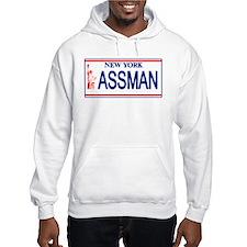 Seinfeld Ass Man License Plat Hoodie