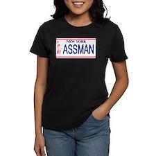 Seinfeld Ass Man License Plat Tee