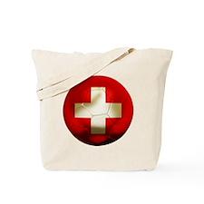 Switzerland Football Tote Bag