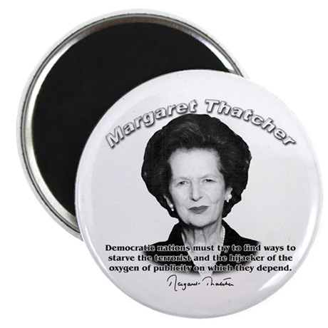 "Margaret Thatcher 04 2.25"" Magnet (100 pack)"