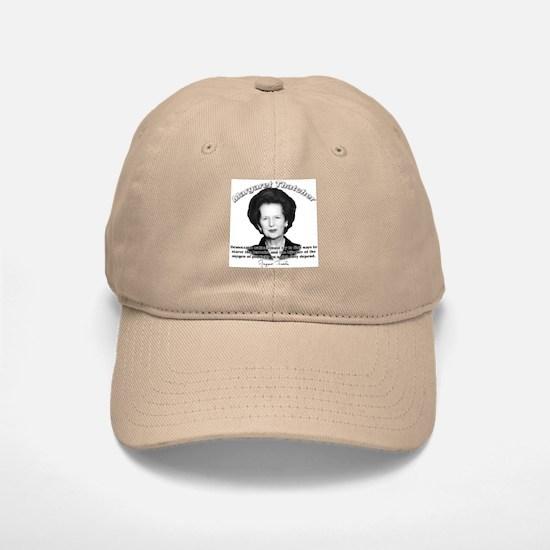 Margaret Thatcher 04 Baseball Baseball Cap