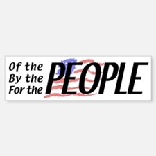 Tea Party For the People Sticker (Bumper)