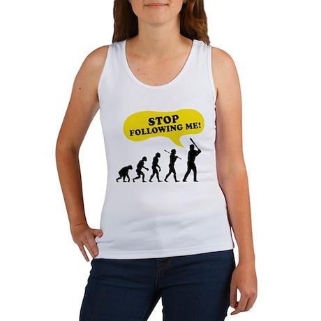 Stop Following Me Women's Tank Top