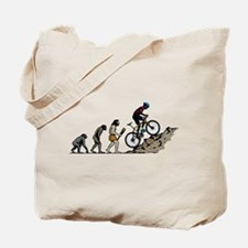 Mountain Biking Tote Bag