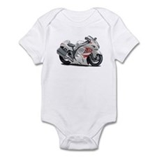 Hayabusa White-Red Bike Infant Bodysuit
