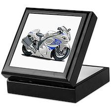 Hayabusa White-Blue Bike Keepsake Box