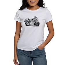 Hayabusa White Bike Tee