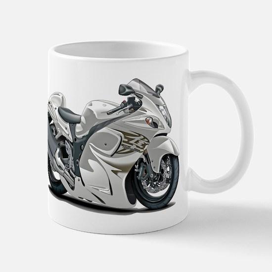 Hayabusa White Bike Mug
