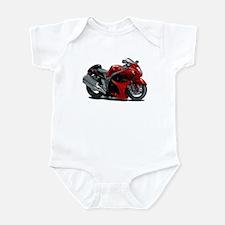 Hayabusa Red-Black Bike Infant Bodysuit