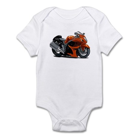 Hayabusa Orange Bike Infant Bodysuit