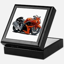 Hayabusa Orange Bike Keepsake Box