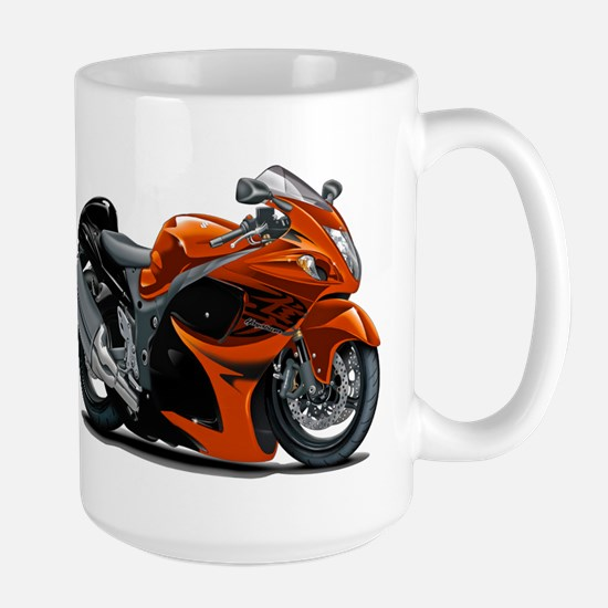 Hayabusa Orange Bike Large Mug