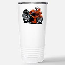 Hayabusa Orange Bike Travel Mug