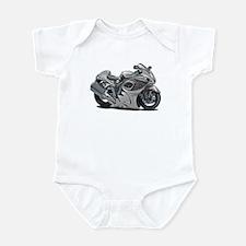 Hayabusa Grey Bike Infant Bodysuit