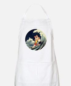 Vintage Art Deco Love in the Surf Apron