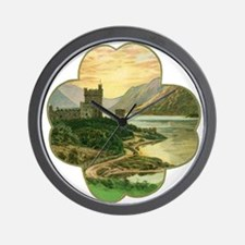Vintage Saint Patrick's Day Wall Clock