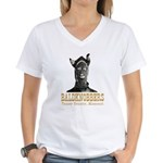Taney County Baldknobbers Women's V-Neck T-Shirt