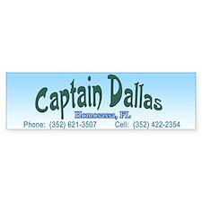 Captain Dallas Bumper Bumper Sticker