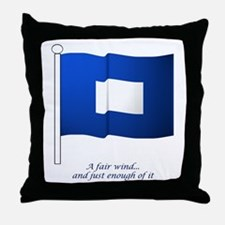 Blue Peter Throw Pillow