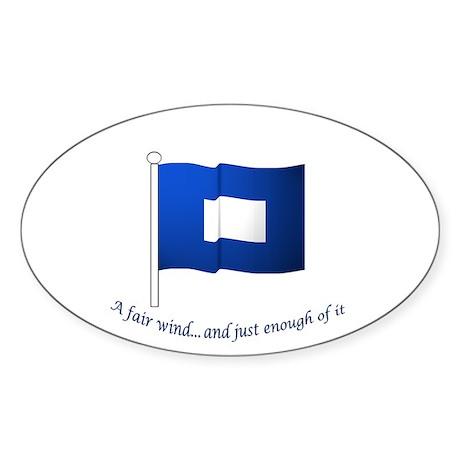 Blue Peter Sticker (Oval 10 pk)