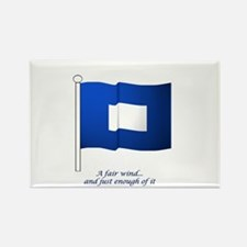 Blue Peter Rectangle Magnet