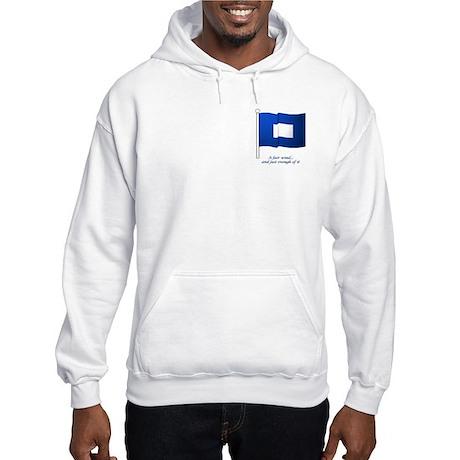 Blue Peter Hooded Sweatshirt