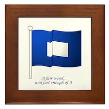 Blue Peter Framed Tile