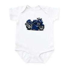 Hayabusa Dark Blue Bike Infant Bodysuit