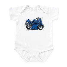 Hayabusa Blue Bike Infant Bodysuit