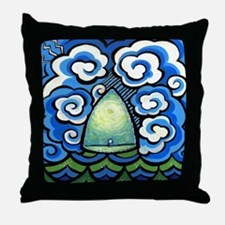 Safe in the Center with You Throw Pillow