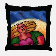 You Make Your Own Weather Throw Pillow