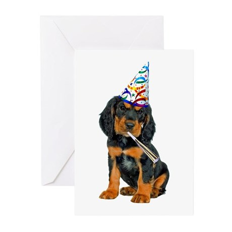 Gordon Setter Greeting Cards (Pk of 20)