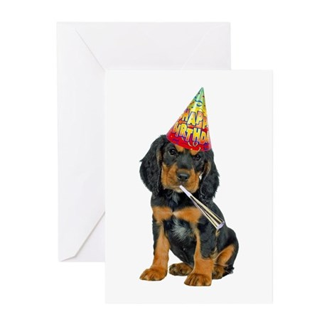 Gordon Setter Birthday Cards (Pk of 20)