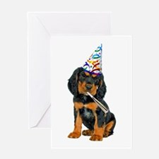 Gordon Setter Greeting Card