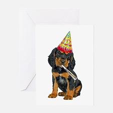 Gordon Setter Birthday Card