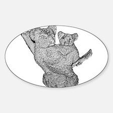 Mother & Baby Koala Decal