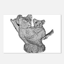 Mother & Baby Koala Postcards (Package of 8)