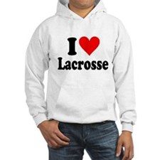 I Heart Lacrosse: Hoodie